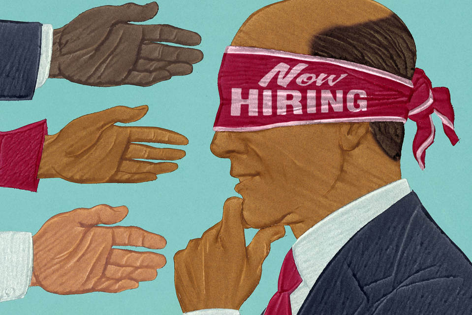 Blind Hiring Can Reduce Discrimination In Hiring